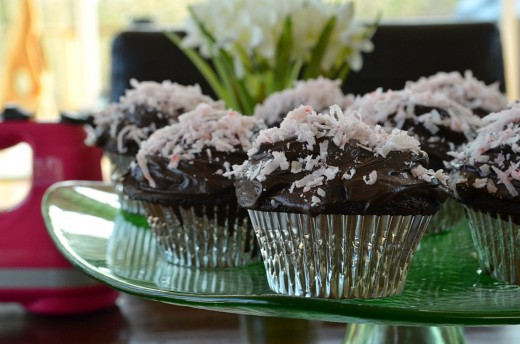 Chocolate Coconut Cupcakes Recipe
