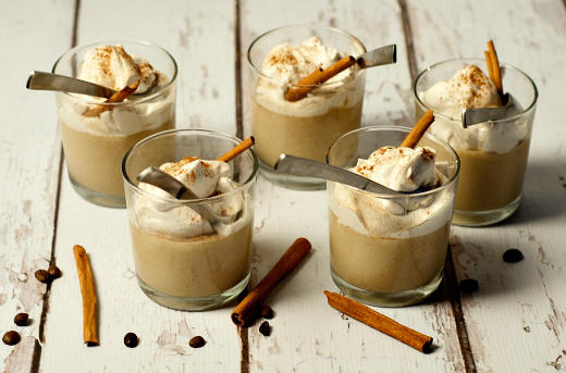 COFFEE PUDDING WITH SWEET CARAMEL WHIPPED CREAM - BLOG ...