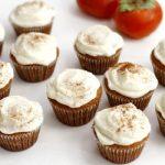 Hero Persimmon cupcakes