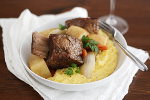 KitchenAid Short Ribs and Polenta
