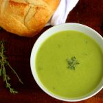 Image 7 HERO Spring Sweet Pea Asparagus Soup blog