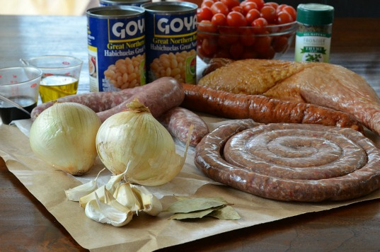 Cassoulet Sausage Beans Recipe