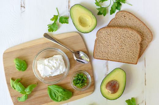 Ingredients_AvocadoGrilledCheese