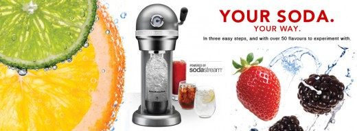 Kitchenaid Sparkling Beverage Maker Powered By Soda Stream