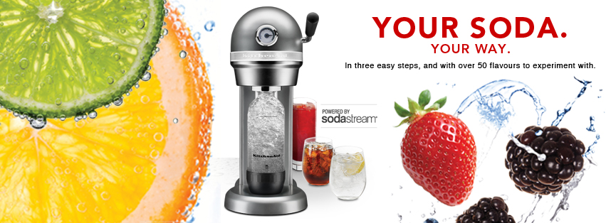 Kitchenaid Sparkling Beverage Maker Powered By Soda Stream