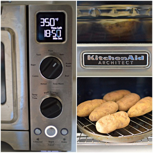 KitchenAid Architect Counter Top Oven Potatoes