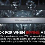 KitchenAid Dishwasher Buying Guide Banner2