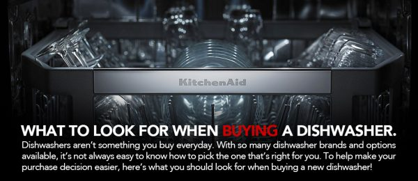 KitchenAid Dishwasher Buying Guide