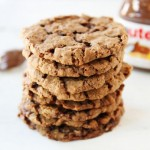 Nutella Oatmeal Cookies 6 520x346