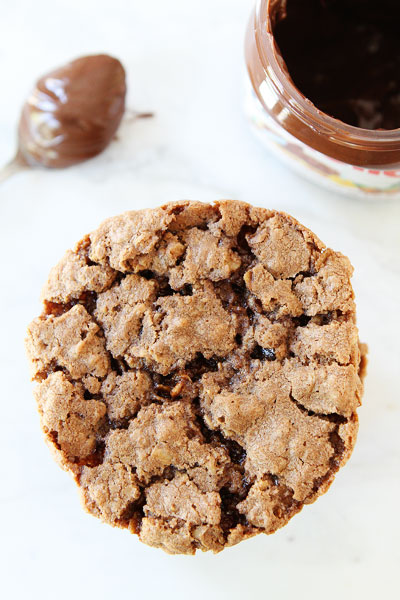 Nutella-Oatmeal-Cookies-7