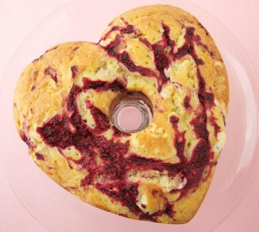 Pink Pound Cake Recipe