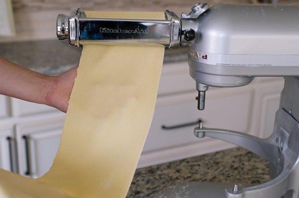 Press Your Pasta Laminated Ravioli - Liren Baker for KitchenAid
