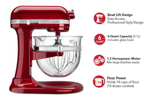 pro 600 - Kitchenaid Mixer Best Price