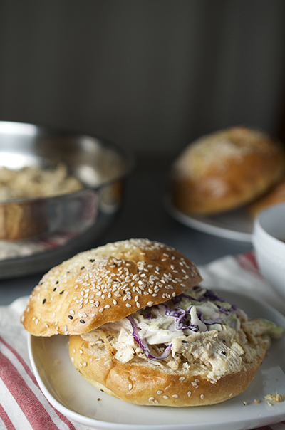 Verticalandwich-Shredded-Chicken-Sandwiches