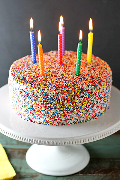 Cake Icing Ideas Birthday : VANILLA BEAN BIRTHDAY CAKE - BLOG: UNITED WE CREATEBLOG ...