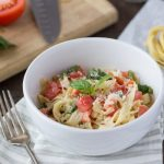 gluten free caprese pasta hero