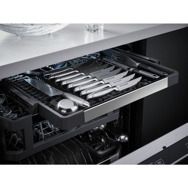 Dishwasher Third Rack Storage Flexibility